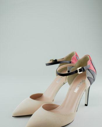 Pollini nude heels