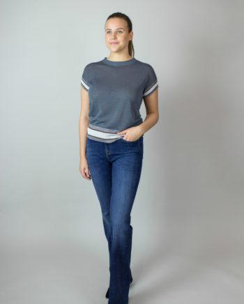 FABIANA FILIPPI Grey T-shirt