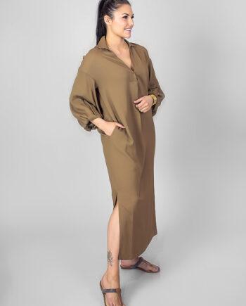 FABIANA FILIPPI Camel dress