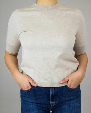 Allude beige cotton shirt