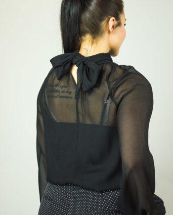 46. FABIANA FILIPPI Black blouse