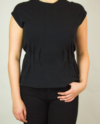HERNO Black T-shirt