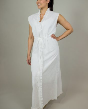 8. KRISTINA TI White long dress