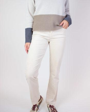 7 Jeans. The straight velvet.