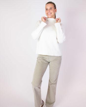 Fabiana Filippi white sweater